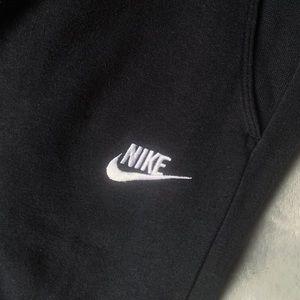 Nike women's black joggers